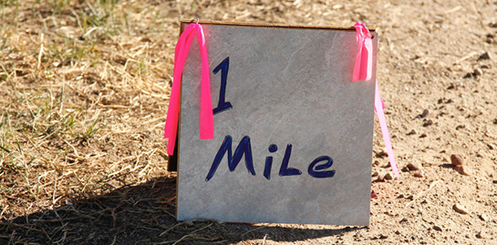 One Mile Race for Cancer Cure